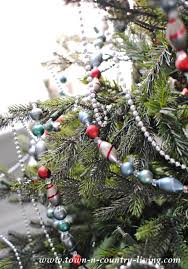 fashioned christmas tree my christmas home tour 2015 town country living