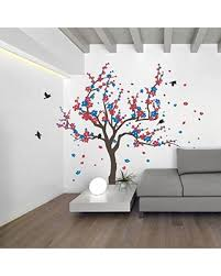 savings on japanese cherry blossom tree and birds wall decal