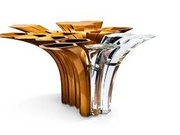 Zaha Hadid Home Zaha Hadid U0027s Swarovski Centerpiece Shows At Nycxdesign Curbed