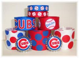 baseball ribbon baseball grosgrain ribbon ribbon cubs baseball baseball team