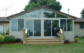 Do It Yourself Patio Cover by Vinyl Sunrooms U0026 Affordable 4 Season Sunroom Installation Kits