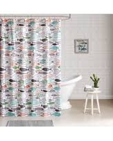 Mimi Shower Curtain Halloween Special Hipstyle Mimi Cat Cotton Print Shower Curtain