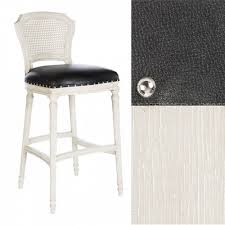 chelsea bar stool bar stool in leather cane back