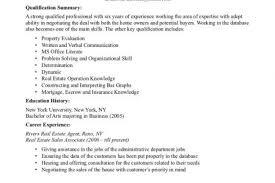 Real Estate Sample Resume by High Student Resume Samples With No Work Experience Teen