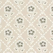 whitehall pebble floral trellis wallpaper little greene