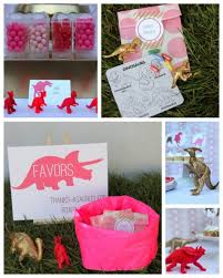 dinosaur party favors one charming party birthday party ideas dinosaur party for