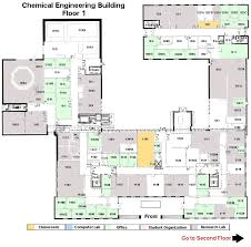 Building Floor Plan Chemical And Nuclear Engineering Building Engineering