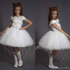 graduation dresses for kids tulle pageant dress kids birthday graduation gown