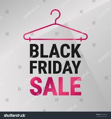 black friday pink sale black friday sale poster vector illustration stock vector