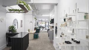 store interior design obiekt designs pared back interior for c est beau s first store