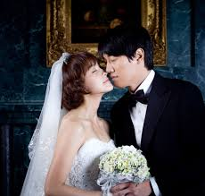 wedding dress drama korea won and jung yu mi in wedding dress photos drama