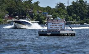bigger boats bigger wakes breed conflict on lake of the ozarks