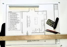 work on the hand drafting project kitchen floor plan work on the hand drafting project kitchen floor plan