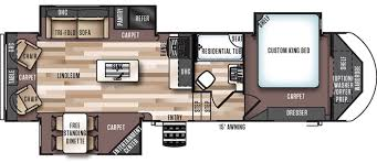 Salem Rv Floor Plans by Forest River Rvs For Sale Rvs Near Little Rock
