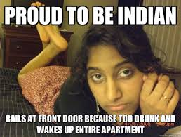 Funny Drunk Girl Memes - balls at front door because too drunk and wakes up entire apartment
