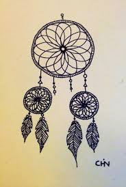 dream catcher drawings dreamcatcher drawing on drawings