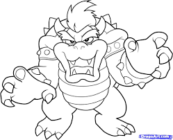 coloring pages mario bebo pandco