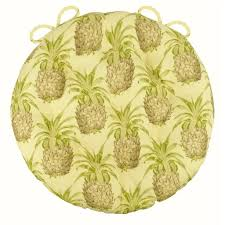 pineapple grove natural bistro chair pad 16