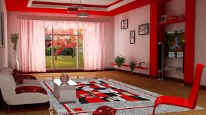 Red Curtains Living Room Pleasant Idea Red Curtains For Living Room Pleasing