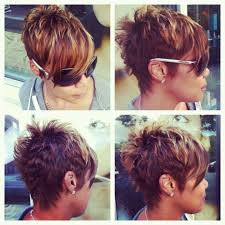 front and back pictures of short hairstyles for gray hair mature long front short back pixie