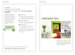 Design Your Own Home Online Australia by Upmarket Modern Brochure Design For Interior Divine Property