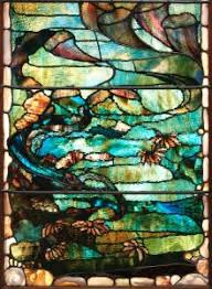 Louis Comfort Tiffany Stained Glass The Ocean U0027s Bounty Undersea Windows By Louis Comfort Tiffany