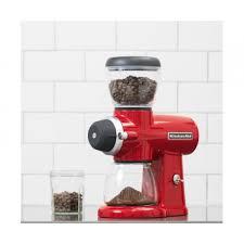 Superstore Coffee Grinder Kitchenaid Kcg0702 Burr Grinder Red For 359 95 Kitchenware