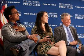 the press triumphs over politicians at the national press club