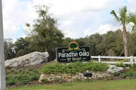 paradise oaks rv resort album mobilerving