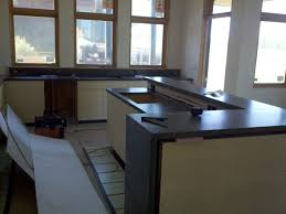 Cement Kitchen Countertops Polished Cement Countertops Cost Ideas With Best Concrete Kitchen