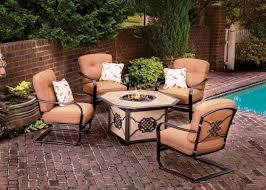 Propane Fire Pit Patio Sets Fire Pit Patio Set Conversation Furniture Design Outdoor Sets