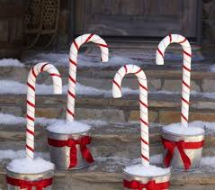 Lawn Christmas Decorations Outdoor by Diy Outdoor Lawn Christmas Decorations Designcorner