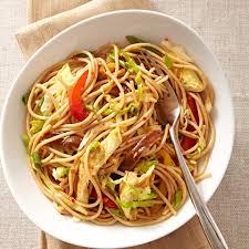 peanut ginger noodles recipe eatingwell