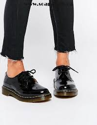 womens flat leather boots canada black shoes dr martens 1461 black patent flat shoes