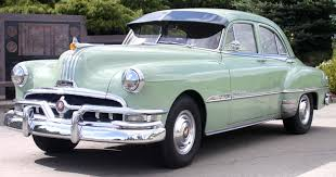 1951 pontiac chieftain deluxe eight in palmetto green