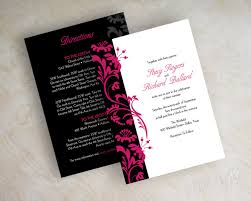Wedding Card Invitations Modern Wedding Invitations With A Clic Setting Of Your Chic 9