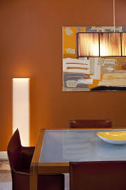san francisco burnt orange paint living room contemporary with