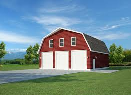 gambrel garage plans for barn u2014 the better garages alluring