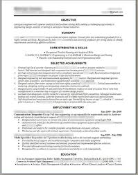 Job Resume Outline by Free Resume Outline Resume For Your Job Application
