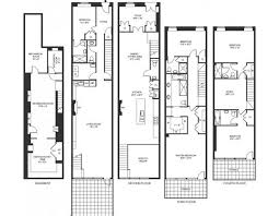 town house floor plans 8 25 million 4 story townhouse in new york ny homes of the rich