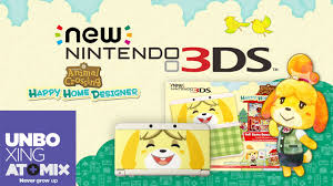 Home Designer by Unboxing New Nintendo 3ds Animal Crossing Happy Home Designer