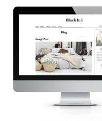 home decor blogs wordpress black ink fashion beauty wp theme wordpress and magazine website