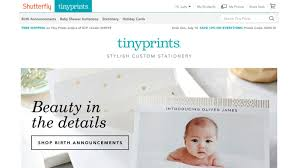 tiny prints opens new home on shutterfly com offering customers