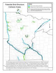 minnesota on map usfws diurnal avian corridor maps for minnesota