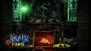 harry potter halloween background harry potter asmr slytherin common room pov hd ambient sound