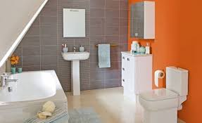 Blue And Orange Bathroom Decor Orange Bathroom Decorating Ideas Orange Bathroom Ideas Decor And