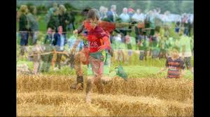 hundreds of children got down and dirty at meggies mini mudder in
