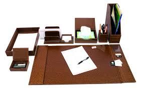 ensemble de bureau en simili cuir 8 pièces ensembles de bureau