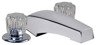 8 mobile home garden tub faucet in chrome transitional