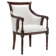Wooden Accent Chair Upholstered Accent Chairs With Arms Foter